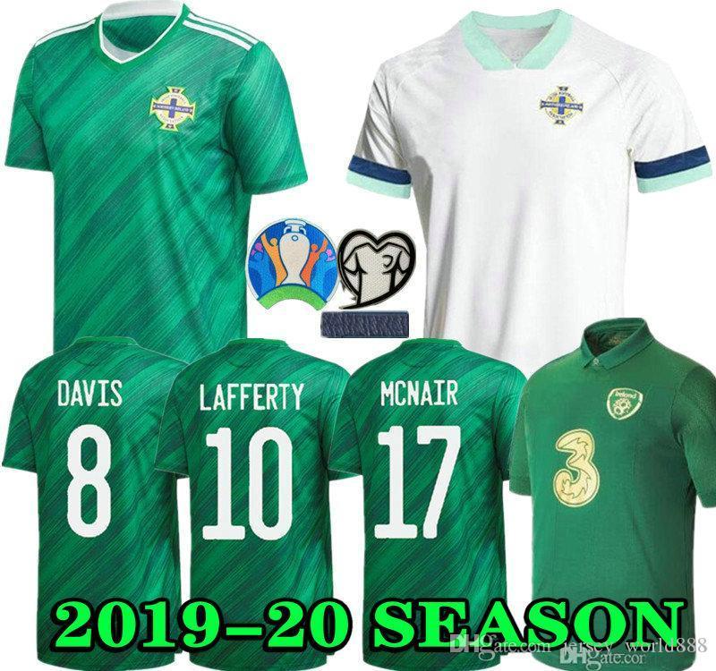 Northern Ireland Soccer Jerseys 19 20 LAFFERTY Euro 2020 Home Mens Kids DAVIS MAGENNIS Football Shirt EVANS MCNAIR BOYCE Jersey Ireland