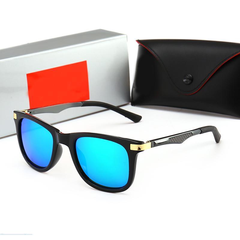 RayBan RB4287 lujo de la manera de las mujeres marca de diseño del marco Gafas de sol Big Square verano generosa Estilo Gafas Mixta Montura de color de calidad superior Protecti UV