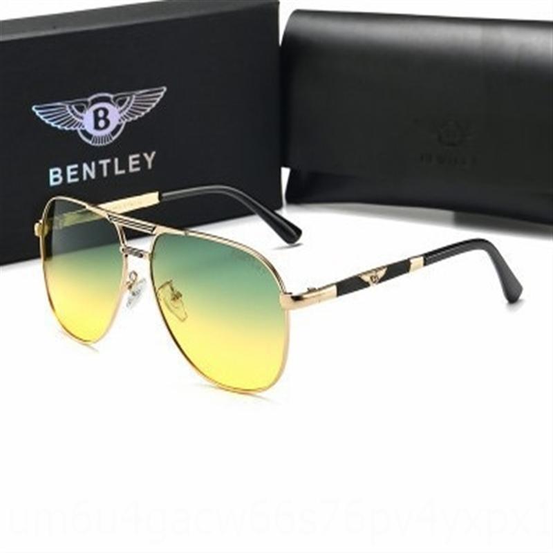 m1ocp 2019 Bentley Нью-поляризованный мужчин и женщин день и ночь ВС двойного назначения HD Солнцезащитные очки sunglassesglasses sunglassestravel очки 01