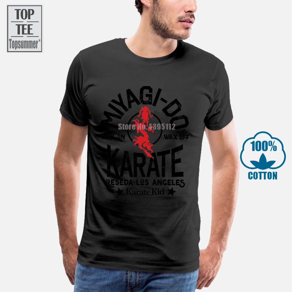 Karate Kid Miyagi Do Karate Raseda Los Angeles Adulte T-shirt grand classique du film