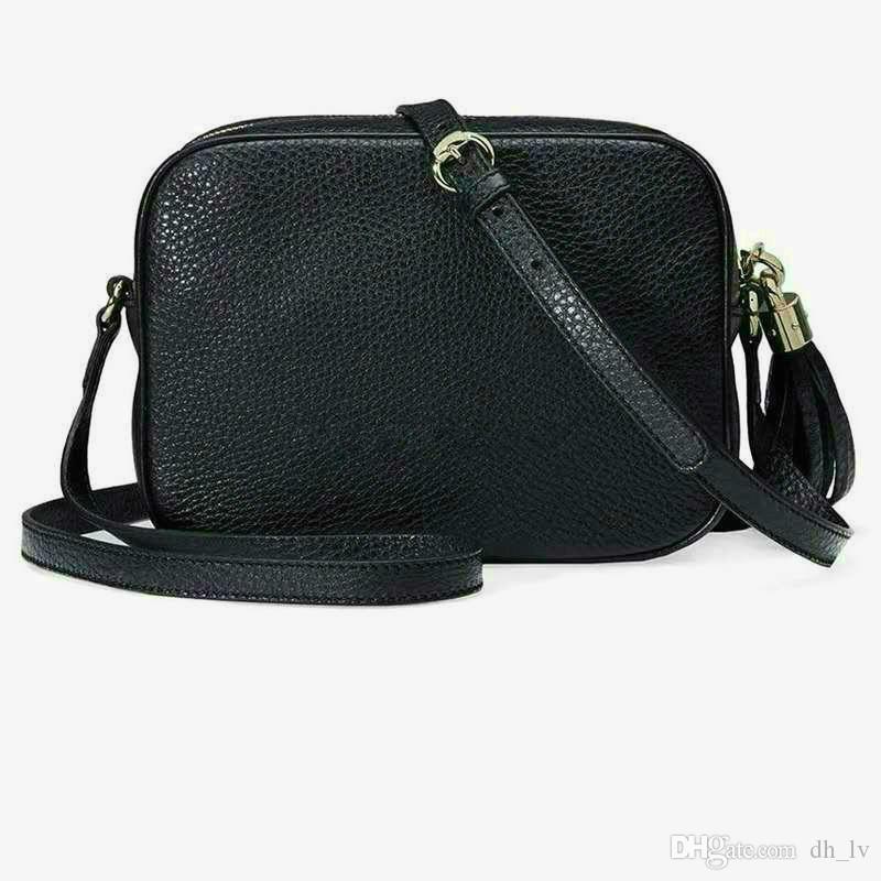 2020 Top-Qualität Frauen Mappen-Luxus-Handtasche Handtaschen Frauen Leder Soho-Tasche Disco-Schulter-Beutel-Geldbeutel 308.364 Gesäumten Beutel Geldbeutel G12