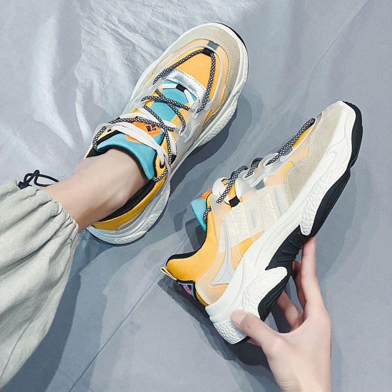 Пластики Мужчины Повседневная обувь Мода кроссовки для Man 2020 Новое прибытие Me смешанных цветов Spring Tide обувь Платформа Mens Light W9JR #