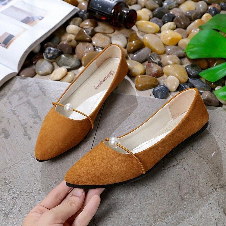 Zanpace sandalias de las señoras 2020 Summer Fashion Low sandalias de gladiador de cuero para mujer zapatos de punta Oficina Zapatos Mujer 38bm #