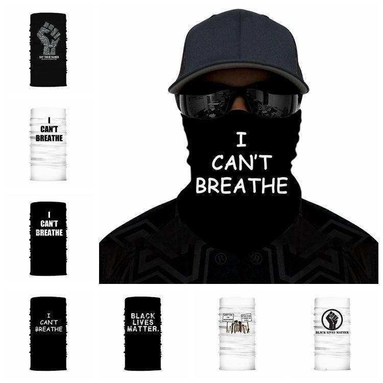 Verão não consigo respirar máscara protetor solar ao ar livre Chapelaria Scarf equitação mágica máscaras do partido do pó preto Vidas Matéria Rosto Anti Abastecimento Rra3166