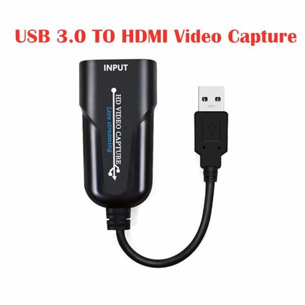USB 3.0 TO HDMI فيديو القبض على 60 إطار HD بطاقة التقاط فيديو 1080P لعبة التقاط بطاقة مجانية المحمولة لعبة الجري المنتزع