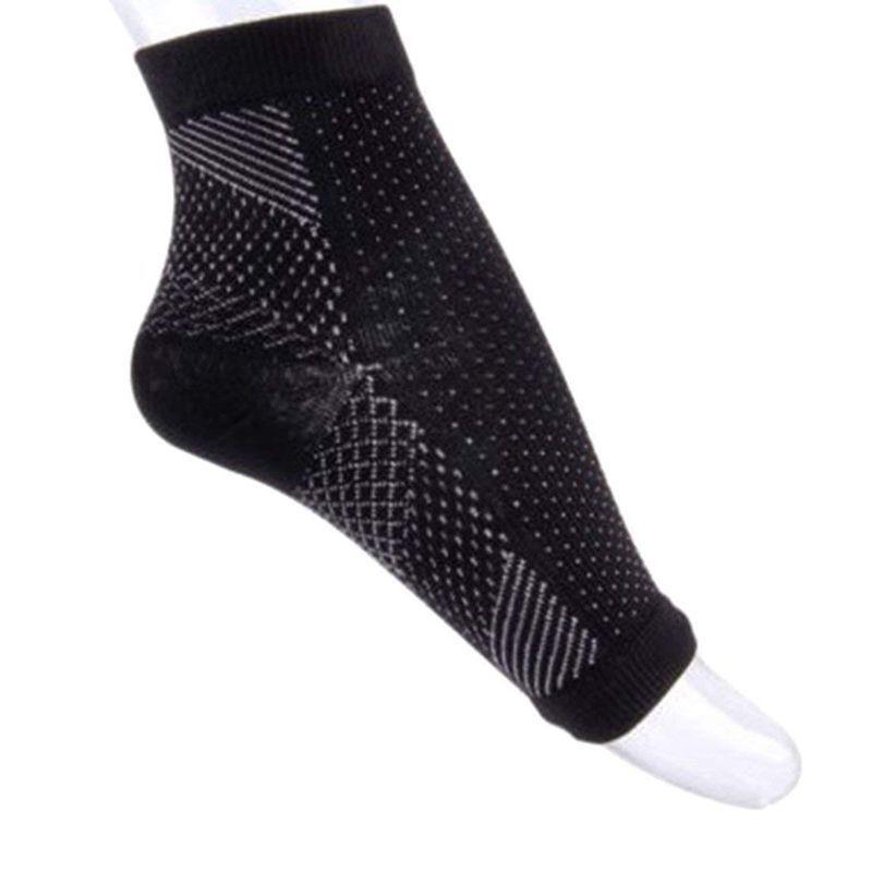 1 Çifti Ayak bileği Sıkıştırma Çorap Karşıtı Yorgunluk Varisli Ayaklar Kol Açık-L / XL