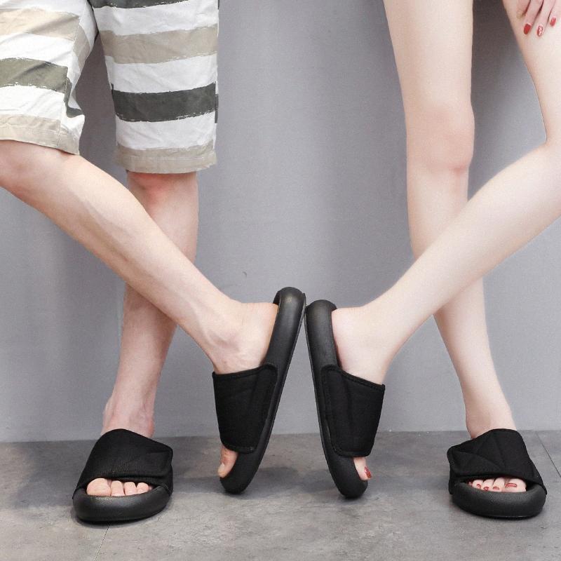 Moda Parejas Inicio Zapatillas Mujer Hombre zapatos de moda las parejas casuales Inicio zapatillas de interior piso plano zapatos planos Y9SV #