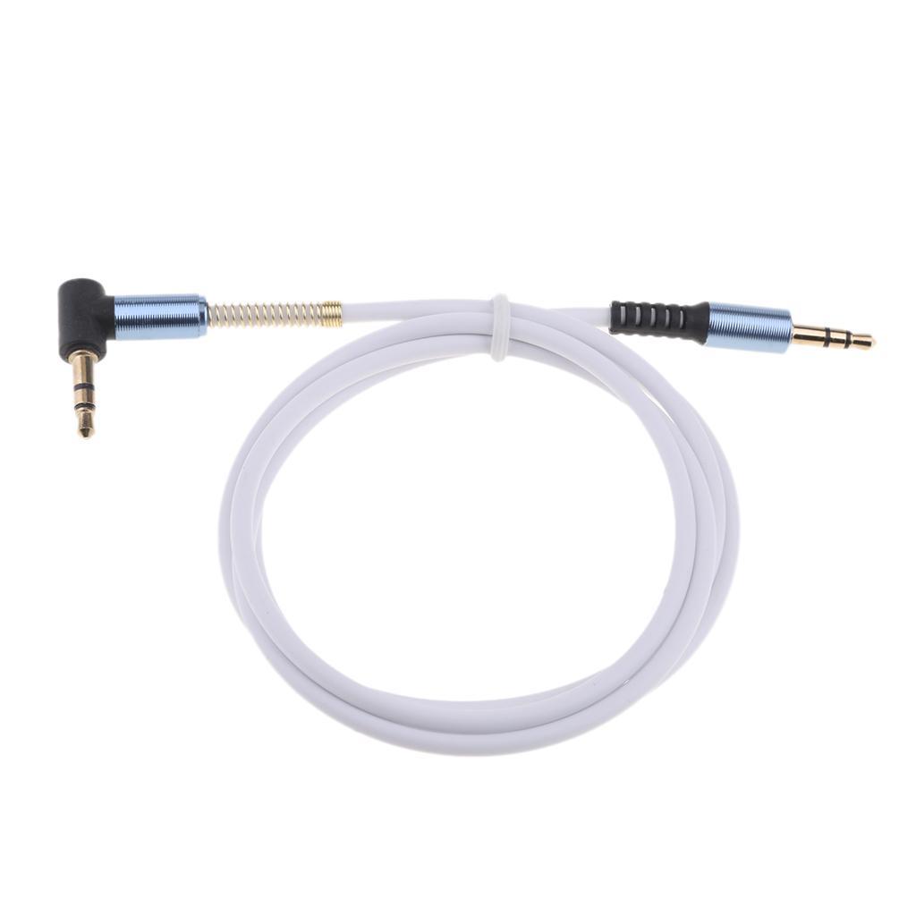 3.5mm ses kablosu, akıllı telefonlar, tabletler ve MP3 Player için Premium Metal ile Erkek Stereo Aux Kablo, Male