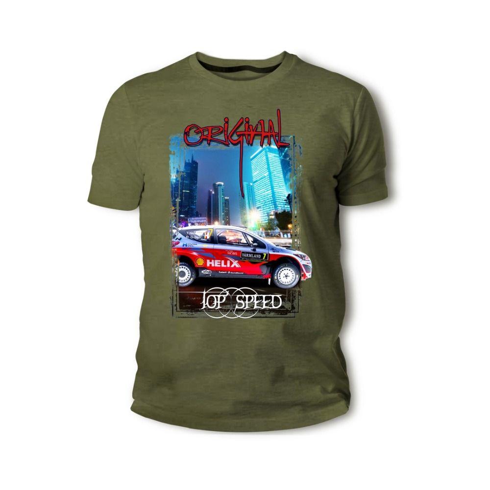 korean fans de voitures classiques i20 wrc rouge Veloster turbo n Veloster hommes de voiture classique hommes de voitures anciennes o-cou hip-hop T-shirts chemises tops