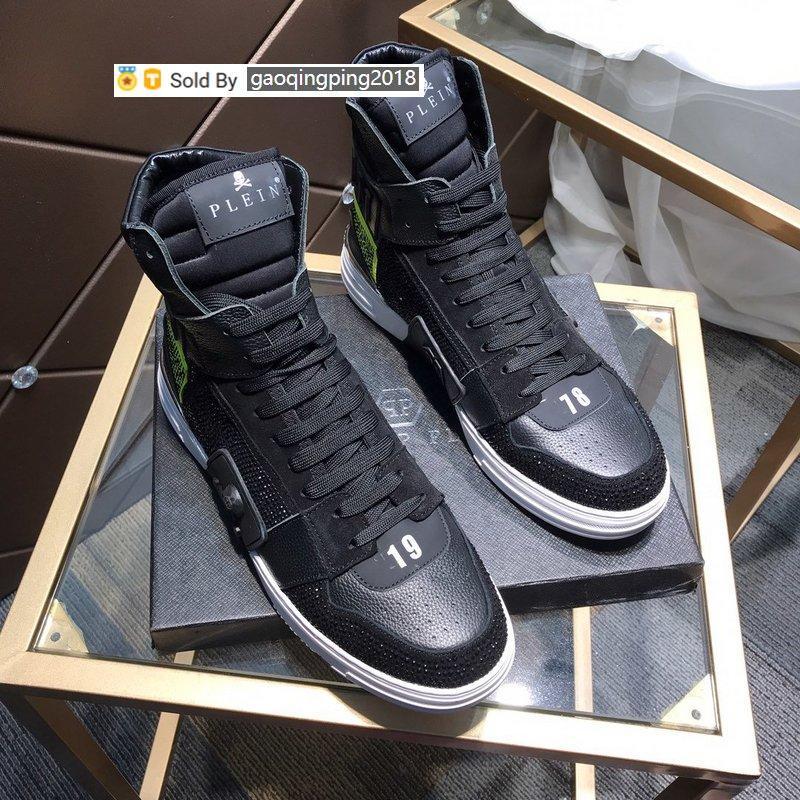 ZXOW été chaud diamant marée haute couture haut casual hommes Chaussures de sport Skate danse Ballerines Mocassins Espadrilles Wedges Chaussures Hommes Robe