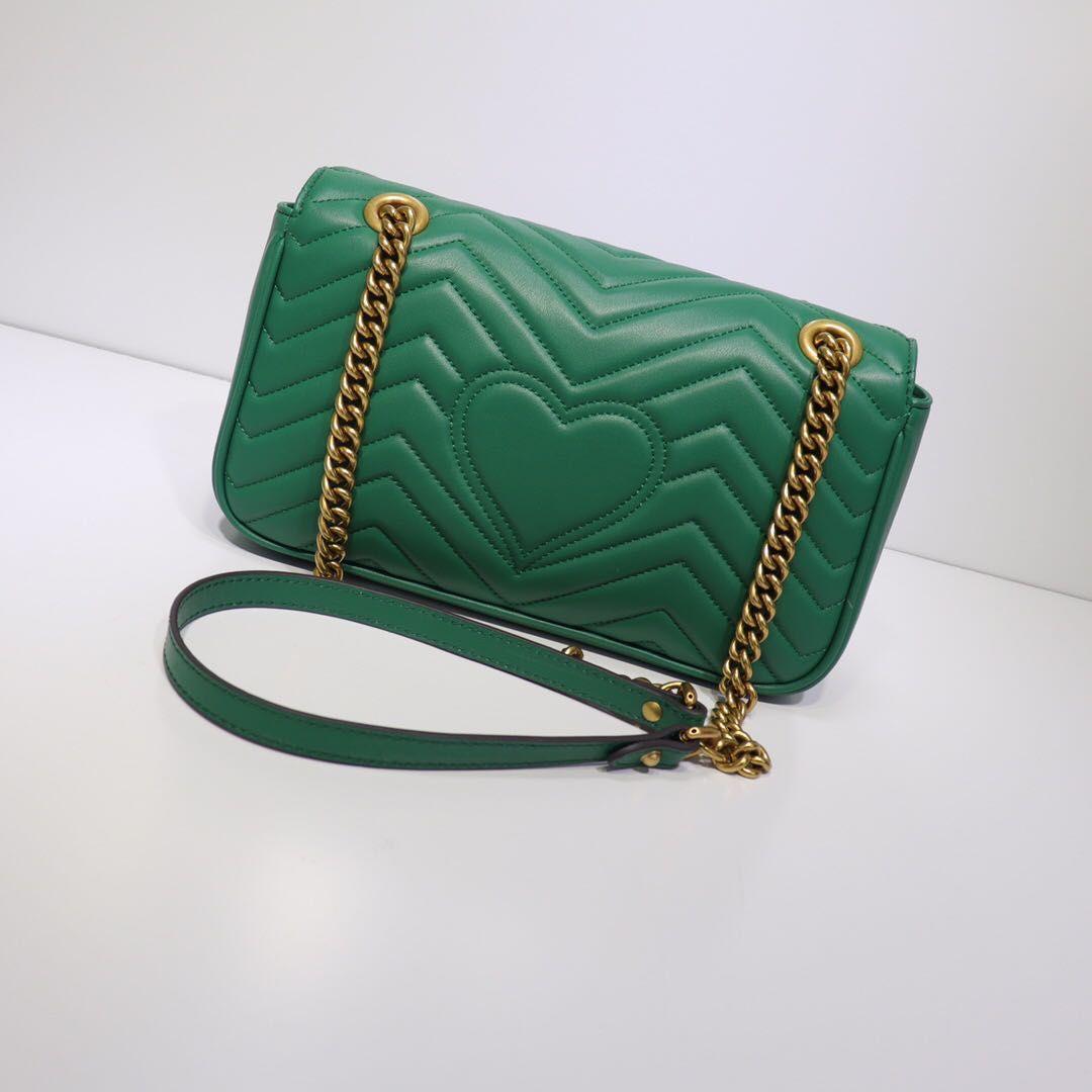 Venta caliente clásica bolsa de hombro Mujeres del cuero genuino de la moda para mujer crossbody bolsas de las mujeres bolso de la letra bolsos de las mujeres con la caja de cambios