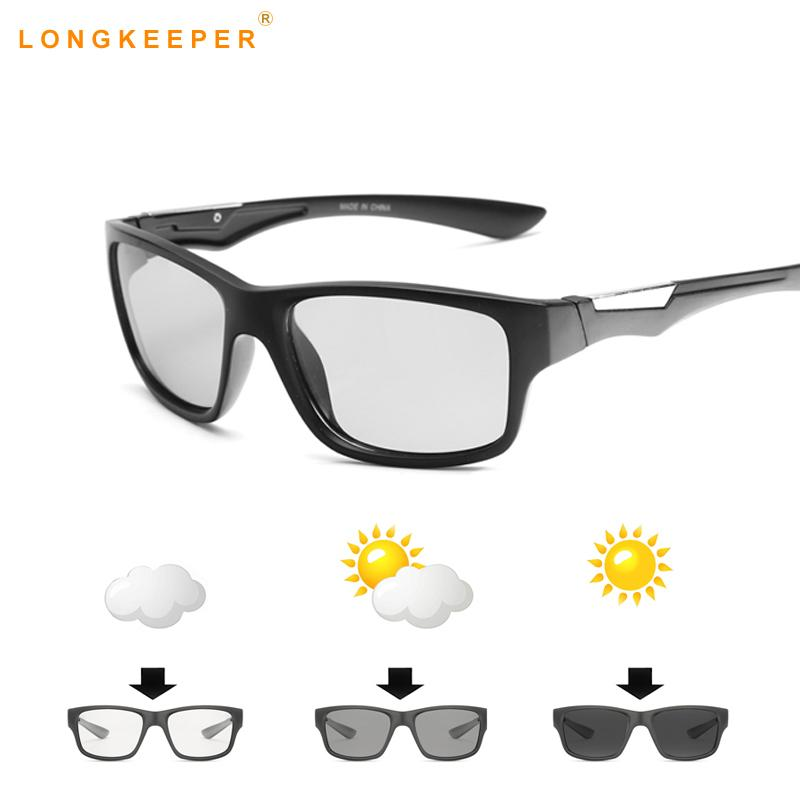 2020 Nueva Fotocromáticas conducción gafas de sol polarizadas gafas de sol para hombre de la marca del diseñador de conducción Gafas para hombre del motorista