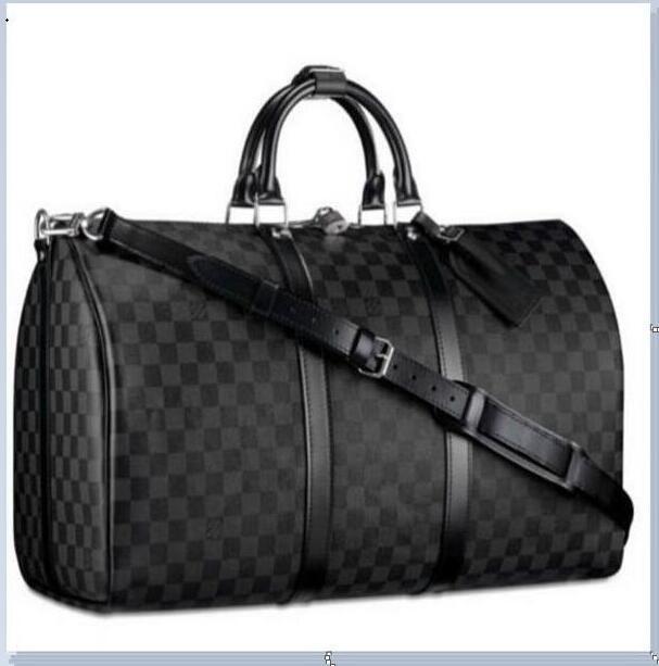 LV LOUIS VUITTON  Ücretsiz kargo 2020 Yeni tasarımcıların luxurys çanta çanta hakiki deri kaliteli çiçek deseni seyahat bagaj spor çanta