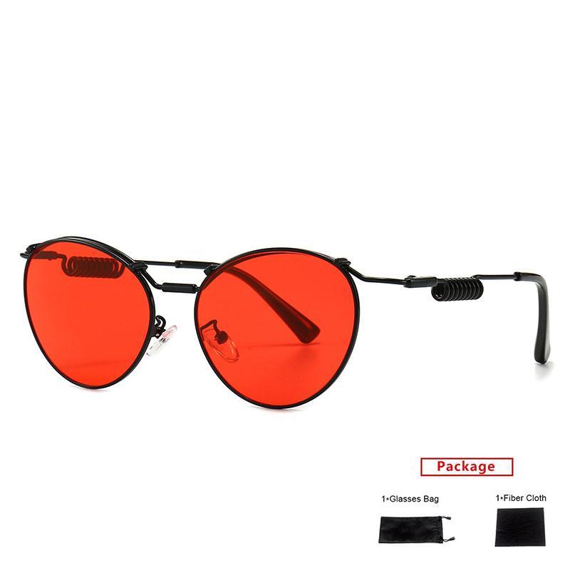 Mimiyou Bacak Güneş Gözlüğü Marka Shades UV400 Klasik Retro Moda Kadınlar Steampunk Güneş Gözlükleri Bahar Erkekler Gözlük Güneş Gözlüğü Cnlaq