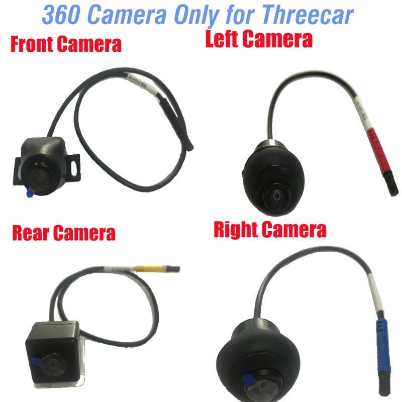 2020 3D Surround View 360 HD Sistema de conducción con el pájaro cámara de visión Sistema Panorama de coches en 3D posterior / frontal / izquierda / derecha 360 de la cámara DVR del coche