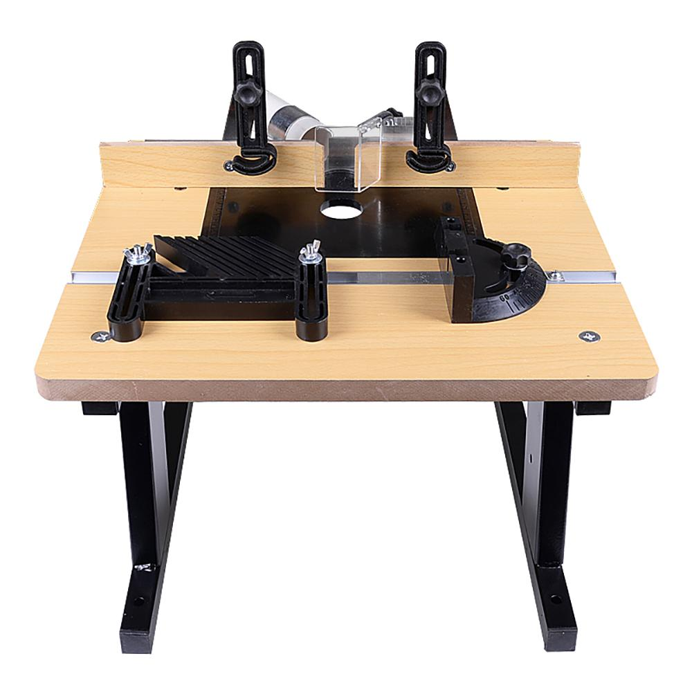 Mini électrique Routeur flip table multifonctions Menuiserie Workbench table à toupie Flip pour la gravure du bois Rogneuse fraisage