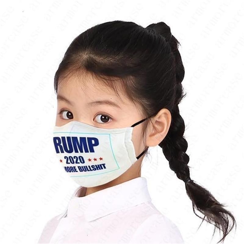 Enfants Visage Filles Garçons Président nous Printed lettres Enfants Masque Trump pas cher 2020 Drapeau poussière Brouillard Pm2.50nnz