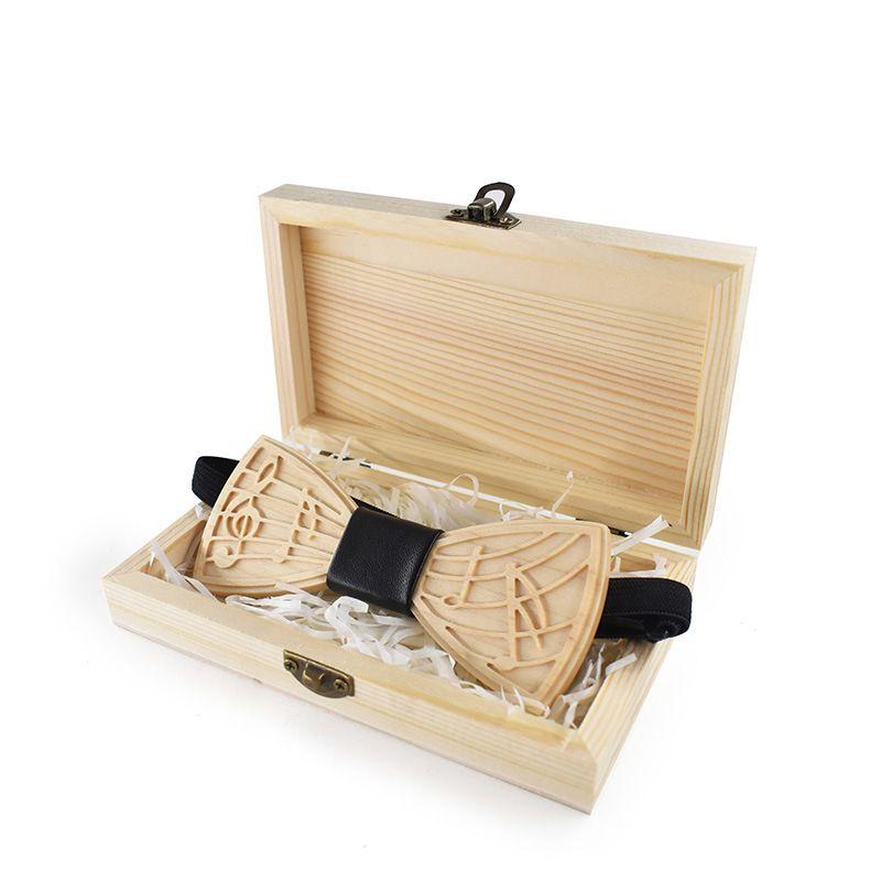 رقاقات الرقبة Linbaiway تصميم خشبي القوس التعادل الرجال الخشب بووتي العلامة التجارية العلامة العنق التجارية ل عرس العريس اليدوية قميص الملحقات
