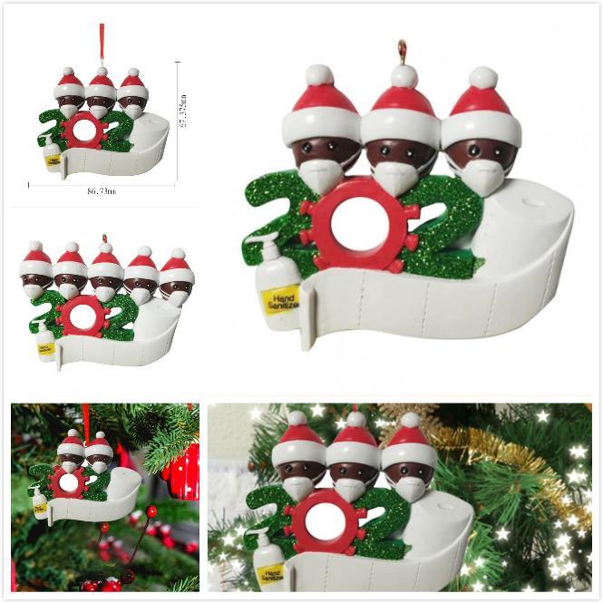 2 3 4 5 6 7 장식 유행성 사회적 거리를의 DHL 2020 검역소 크리스마스 생일 파티 장식 선물 제품 개인 가족