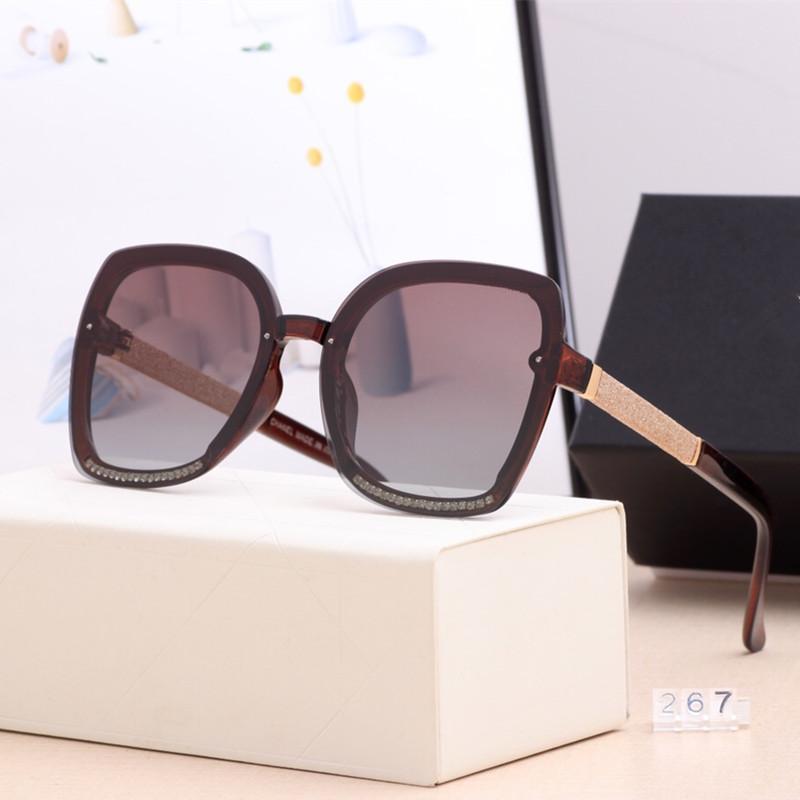 Sombras Envío Señoras 2020 Gafas de sol Vintage Mujeres polarizadas Vidrios para conducir Lujo Femenino Femenino Gafas de sol gratis Sol con LHSLR