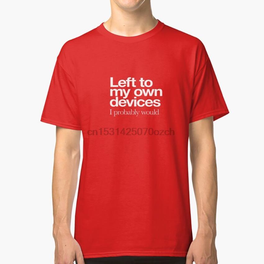 Left To My Own Devices ... weißes Logo-T-Shirt Tennant Lowe Pet Shop Boys Bitte Eigentlich 80er Jahre Musik Opportunities Westen