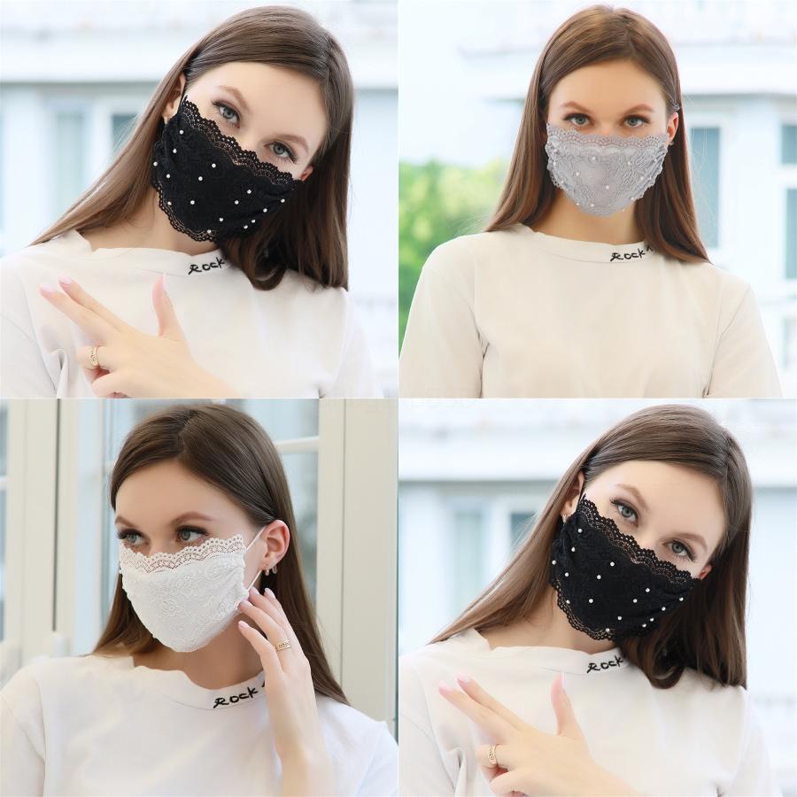 Prection Mascarilla Máscaras Moda cara de impresión de tres capas con Melt Blown-población adulta máscara # 294
