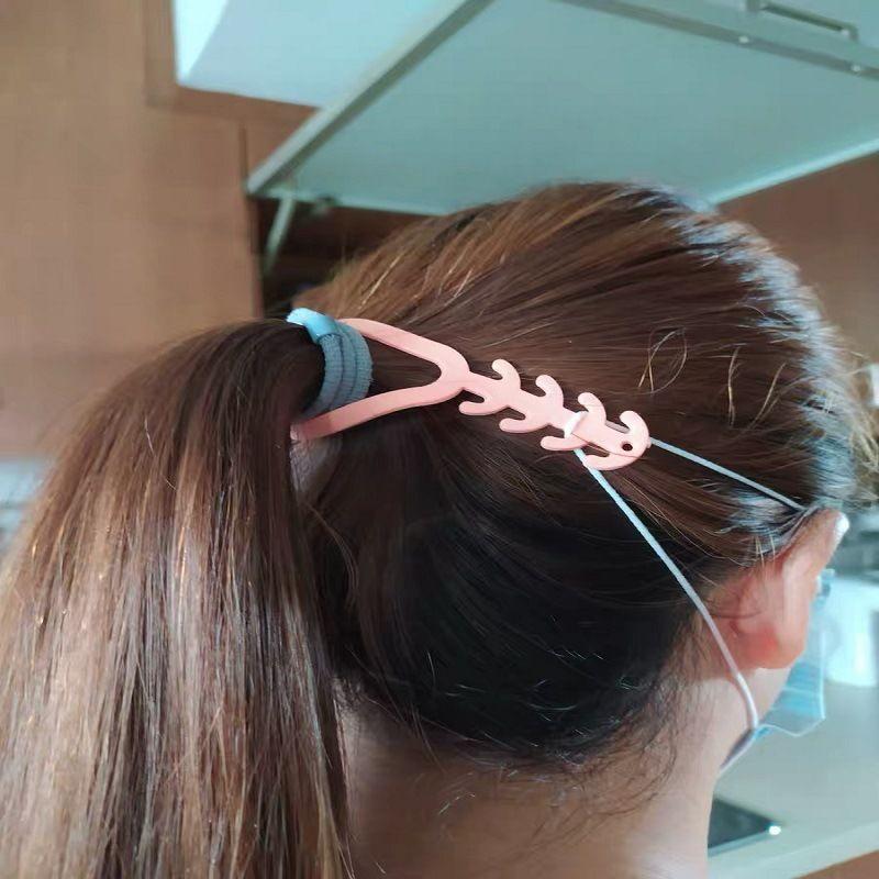 قناع الشريط موسعات TPR الأذن هوك الشريط موسع بكلات مكافحة تشديد الأذن حامي تخفيف الضغط حامل مشبك الأذن اكسسوارات الشريط