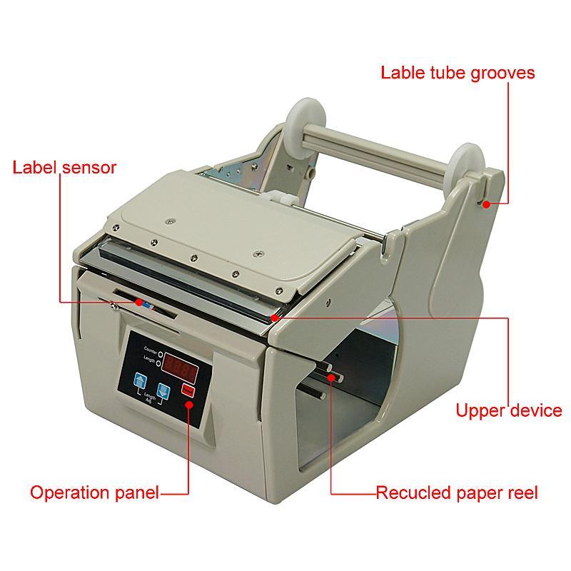 Etiqueta AL X130 130mm automático dispensador de desmontaje de la máquina para etiquetas autoadhesivas / códigos de barras de automóviles Peeling / Separación