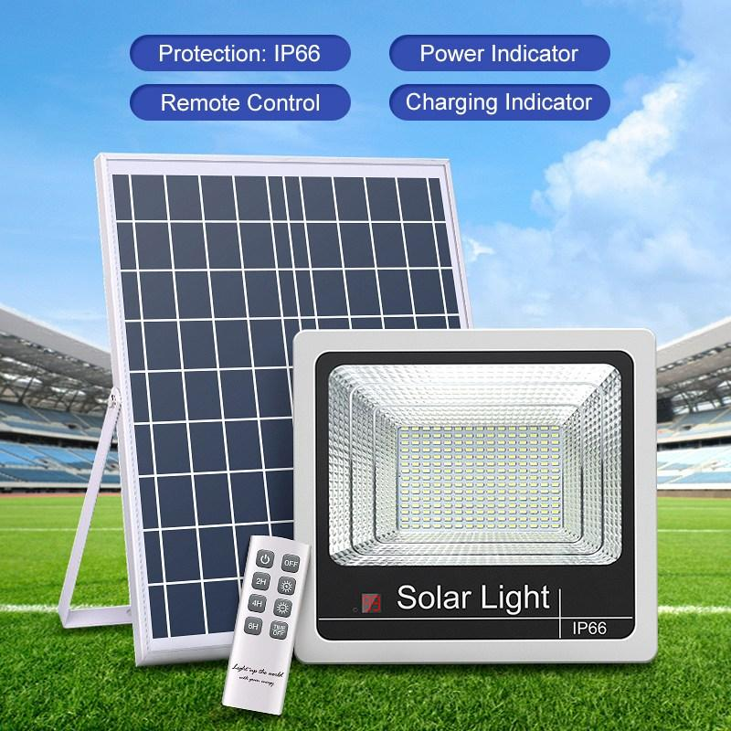 Umlight1688 solares luzes de inundação Sl -389 -1 20w 40w 60w 100w 120w com controle remoto Luz Controle Ip66 Waterproof Luz Solar Lampadaire Solai