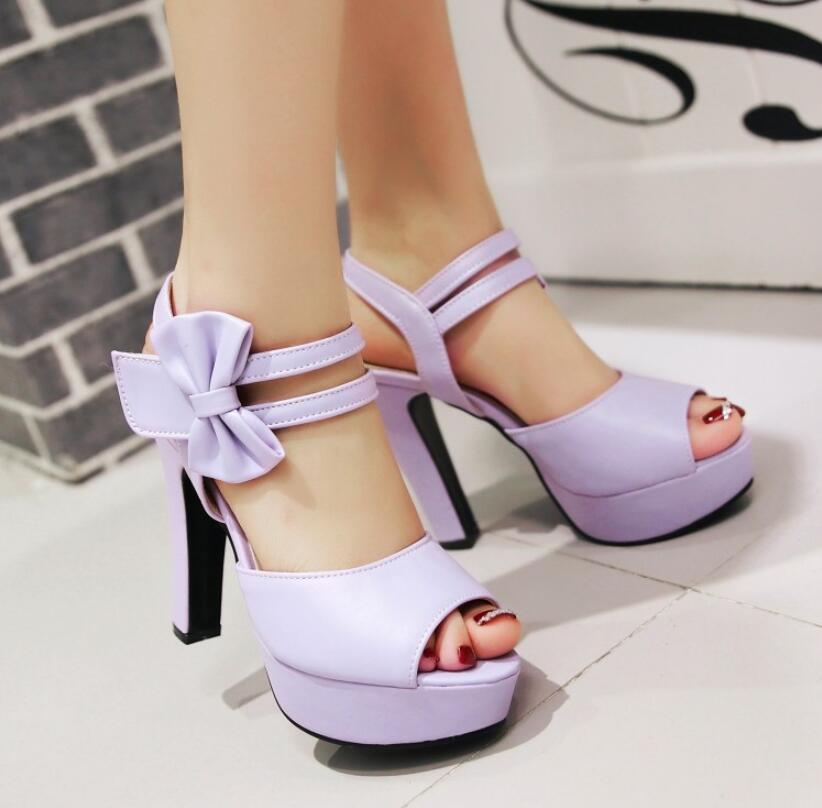Luxury designers sandals have created European and American fashion women's fish toe shoes bow holiday gifts