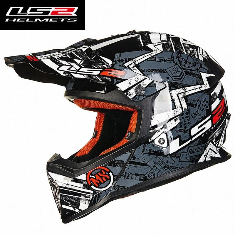 LS2 Professional Motorcycle Off Road Helmet DOT Racing Motocross Helmet DOT ECE Full Face Cascos Para Moto Capacetes u3W8#