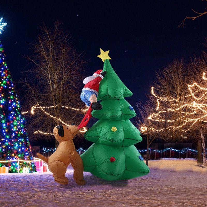 Fontes Spree 1.8M alta automático inflável Natal Árvore de Natal Decoração Jardim Home Decor partido