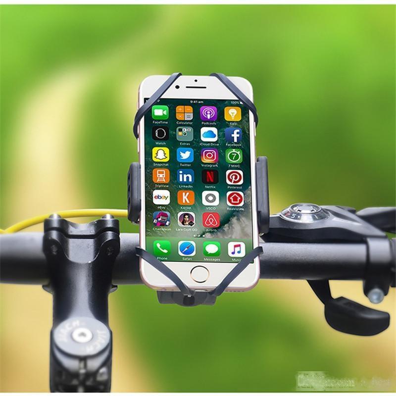 Fahrrad-Handyhalter Handys Halter Fahrradhalterungen Lenker Unterstützung Handy Halter Handy-Standplatz für iPhone X Samsung S10e
