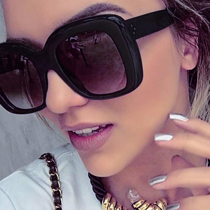 Winla TOP солнечные очки женщин Популярные Марка Дизайнер Square Стиль Солнцезащитные очки для женщин Lady очки Женщины Rivet Оттенки УФ
