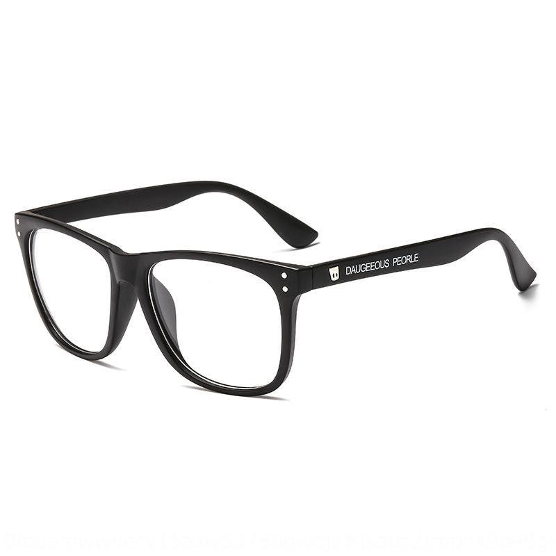J0OLf Xue Zhiqian stessa miopia M pianura chiodo maschile telaio con gli occhiali moda coreana delle donne occhiali miopia telaio