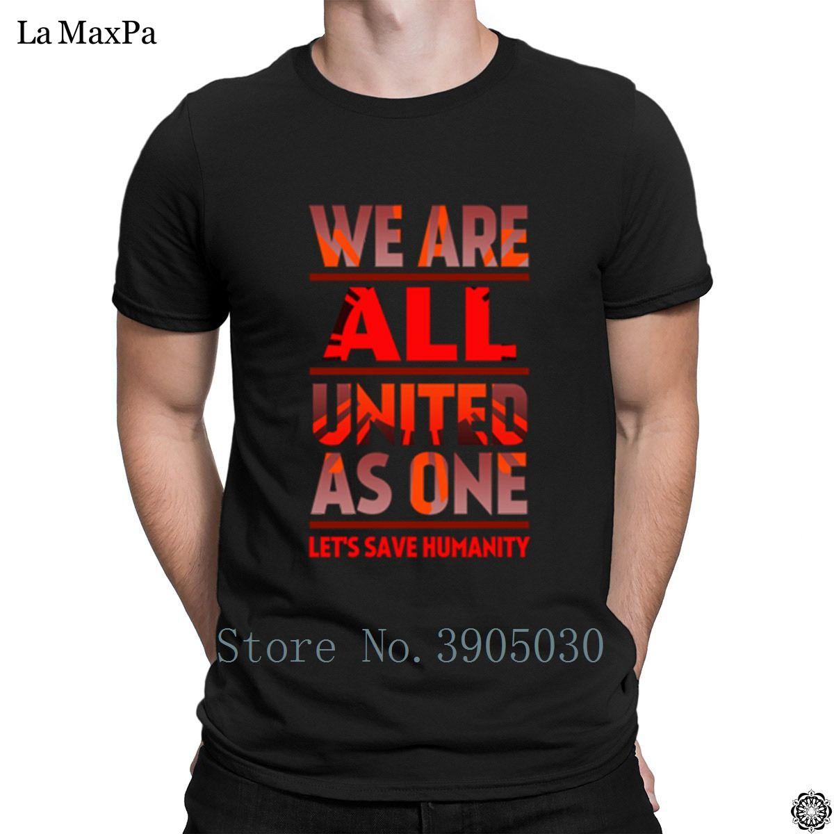 T-shirt Formal manga curta Man United Como One By Aquamarine Mens T Shirt Authentic Camiseta Unisex Branded Pop Top Tee
