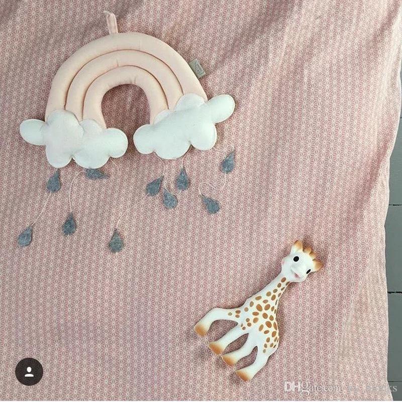 Simpatico cartone animato cloud baby comfort cuscino divano letto letto cuscino regalo farcito giocattoli giocattoli per bambini cuscino bambino cuscino stanza peluche decorazione bambini npogg