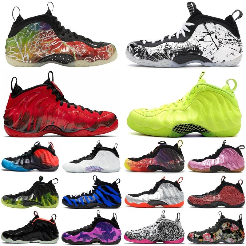 2020 nike air foamposite pro penny hardaway one jumpman uomo scarpe da basket Pechino USA alternate galaxy mens formatori sneakers sportive taglia 7-13