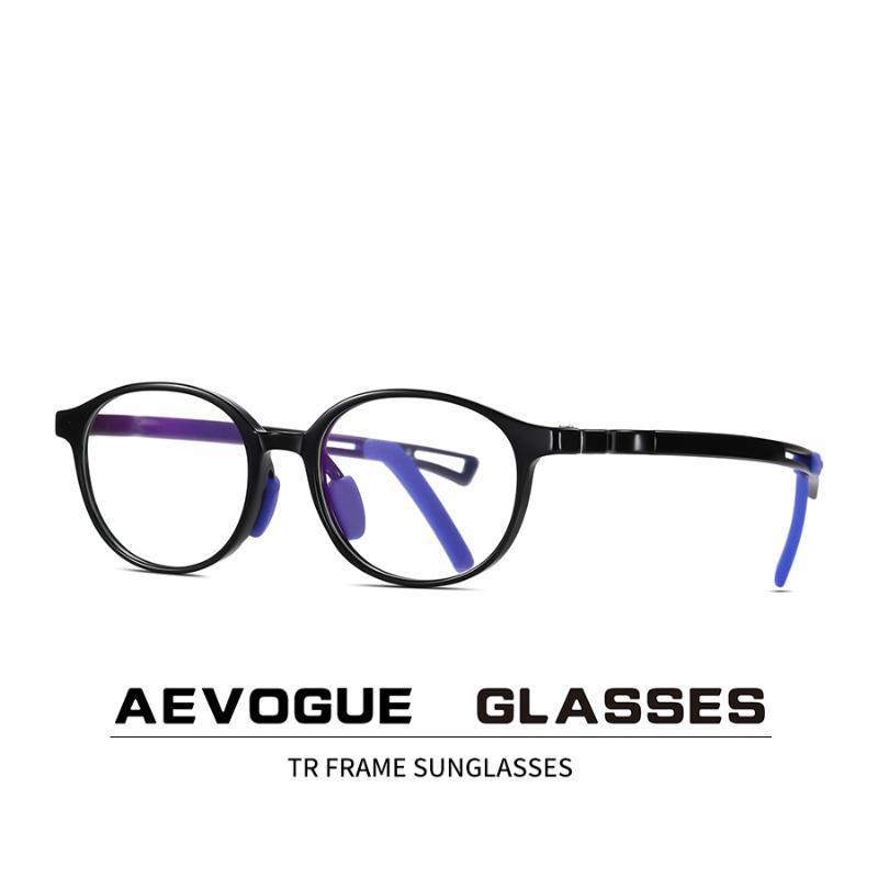AEVOGUE New Criança Anti-Azul Optical Frame TR90 Luz Óculos óculos de prescrição óculos AE0919