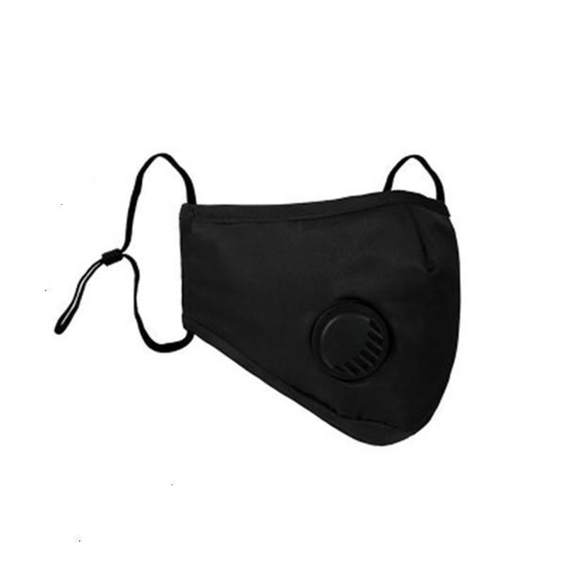 Faccia 1 in magazzino Er Pz Sacchetto Bocca Designer Nuovo PM2.5 la mascherina antipolvere lavabile riutilizzabile ghiaccio seta Boom201 # 685 # aq554
