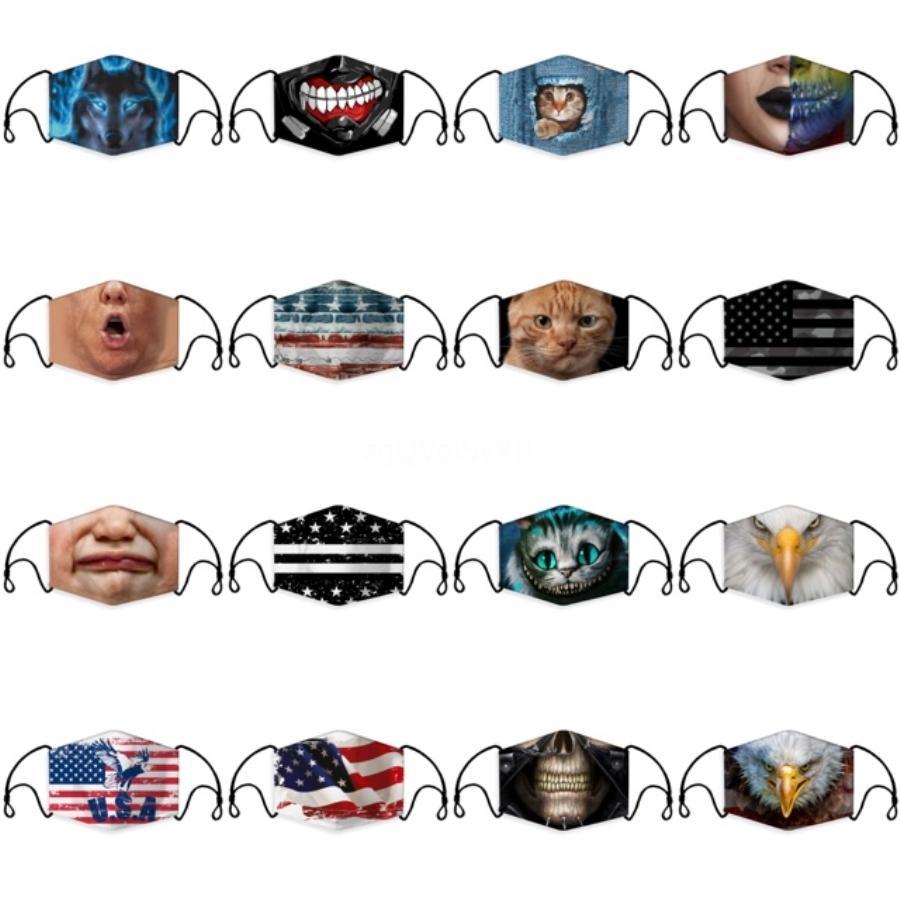 # 143 By Nefes toz geçirmez Kişilik Maskeler pled Filtre Maskeleri Ücretsiz Shippng Olabilir Patlama Korumalı Pamuk Leopar Maskesi Sıcak Satış