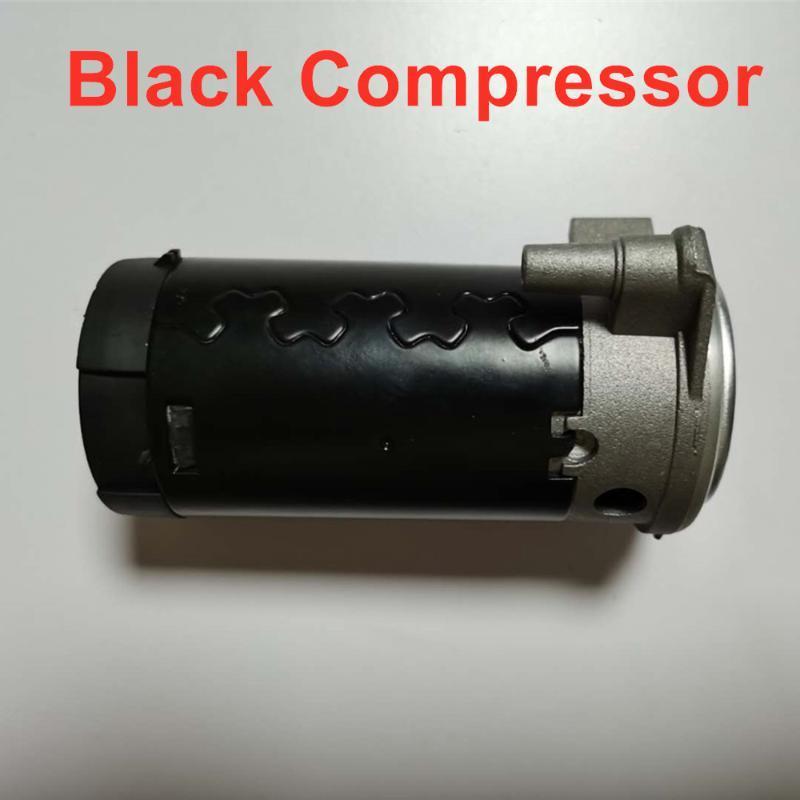 Universal Negro Cromo Compresor de aire del coche 12V de 17 pulgadas de Hornos