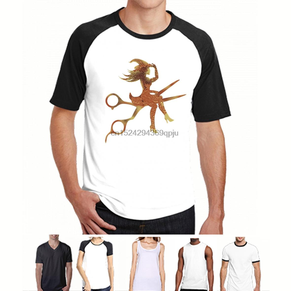 Shirts T shirt Uomo Parrucchieri Parrucchieri magliette T per Halloween donne divertente maglietta novità tshirt (2)