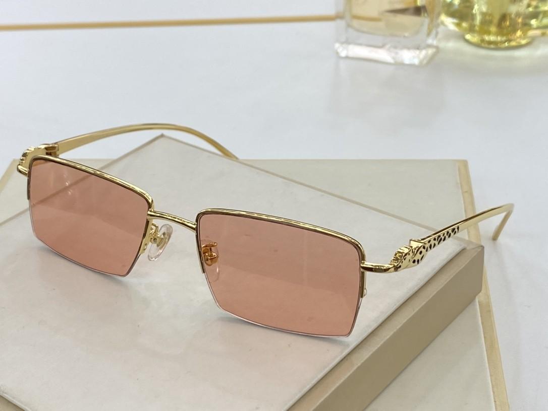 Última venta Popular Moda Lente Mujeres Gafas Para Hombre Gafas de sol Caja Gafas de sol Calidad de Sun Top Gafas Hombres Gafas de sol UV400 0130 WIT RJPP