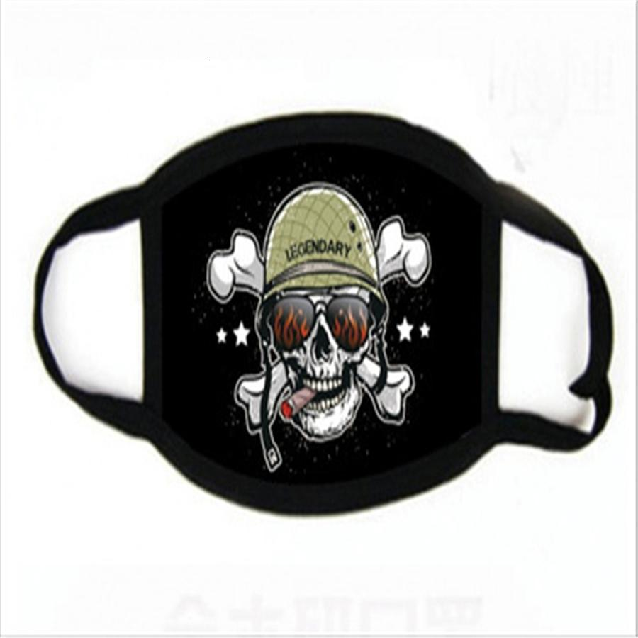 Maschere La mancanza di polvere protettiva Unisex Fa Mout Cotone stampa Wasale Maschera Anti Fog Aze per Adulto Uomini Donne # 769