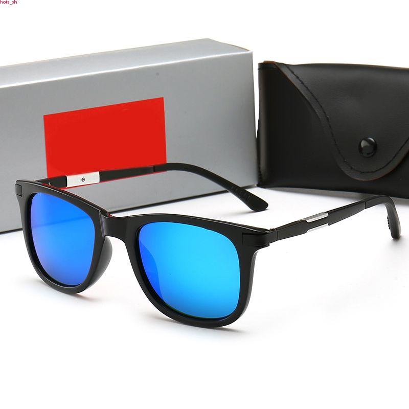 RayBan RB4239 Новая мода в Европе и Соединенных Штатах TIDE поляризованные очки Square Спорт Повседневный Солнцезащитные очки унисекс Солнцезащитные очки на открытом воздухе