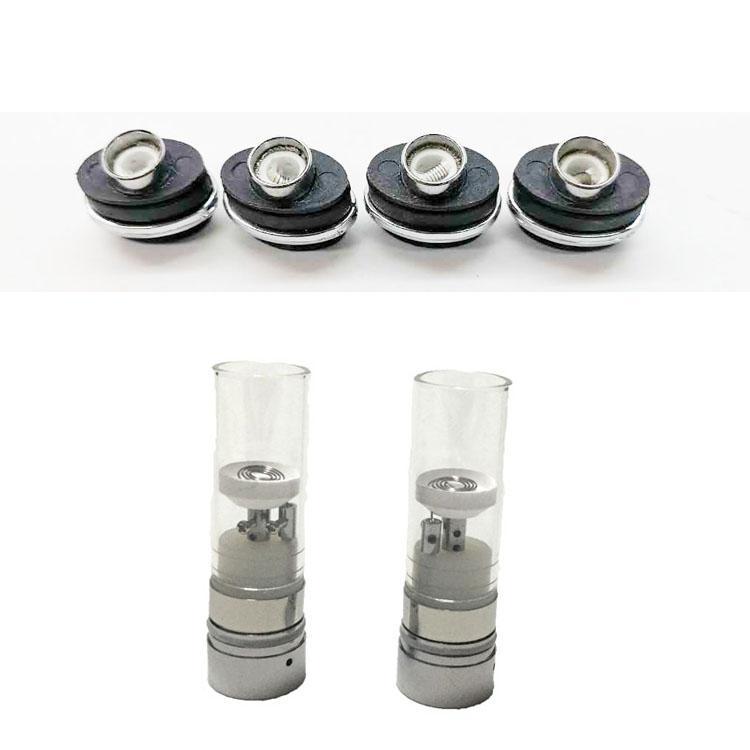 micro nucleo spioni bobina cera vasca di vetro atomizzatore e erbe vaporizzatore atomizzatore erbe micro penna accessori sigaretta elettronica secche