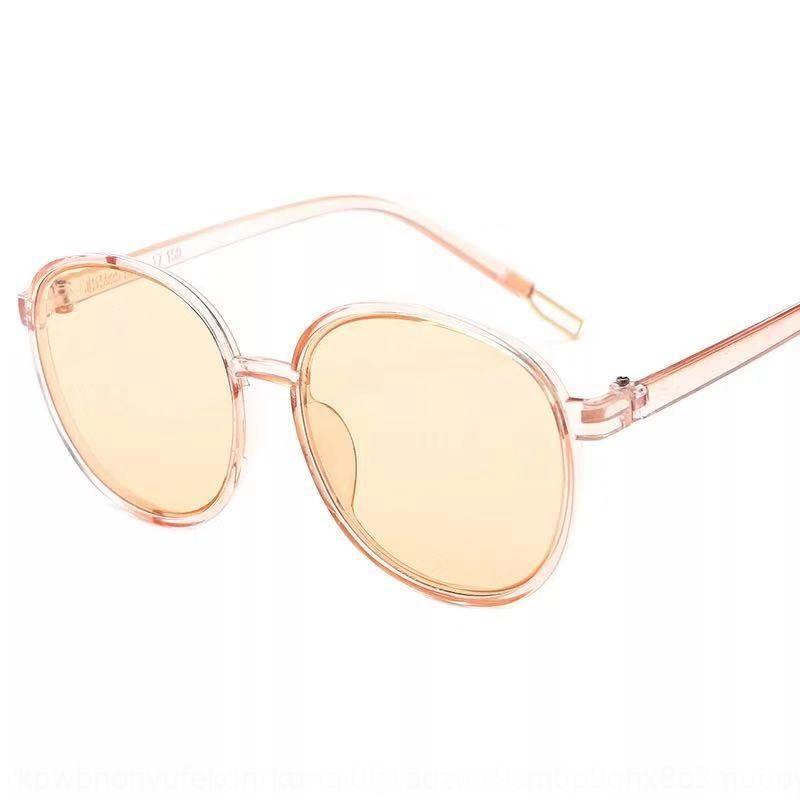 dL8er 2019 del sole nuovo sole occhiali occhiali da sole rotondi grandi donne del telaio a prova di UV 15995