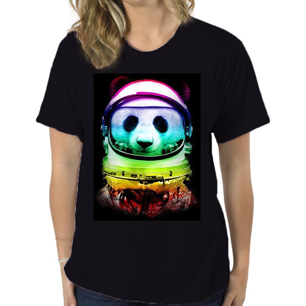 Hommes T panda espace shirt T-shirts T-shirt T-shirt