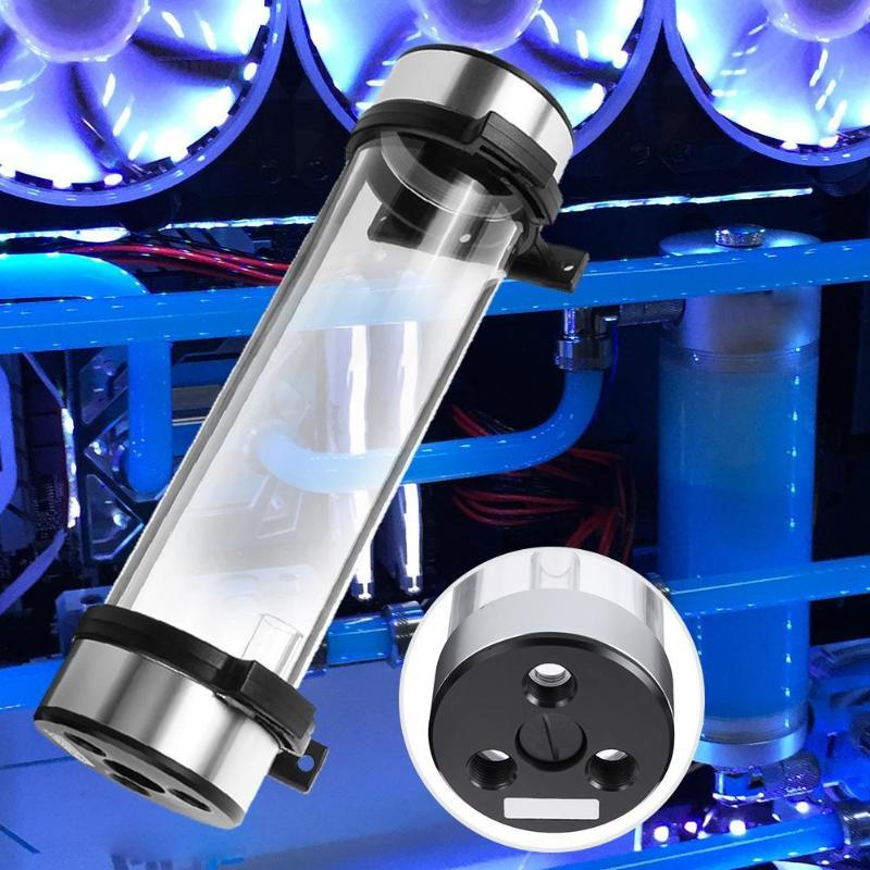 Cylinder Reservoir Water Tank Water Cooling Kit for PC Liquid Cooling Computer Accessories 234mm